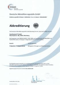 2016-02 DAkkS Akreditierungsurkunde Bild